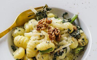 Vegetarische Pasta mit Brokkoli und Muschelnudeln